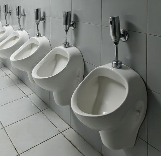 toilettes de récupération d'eau de pluie